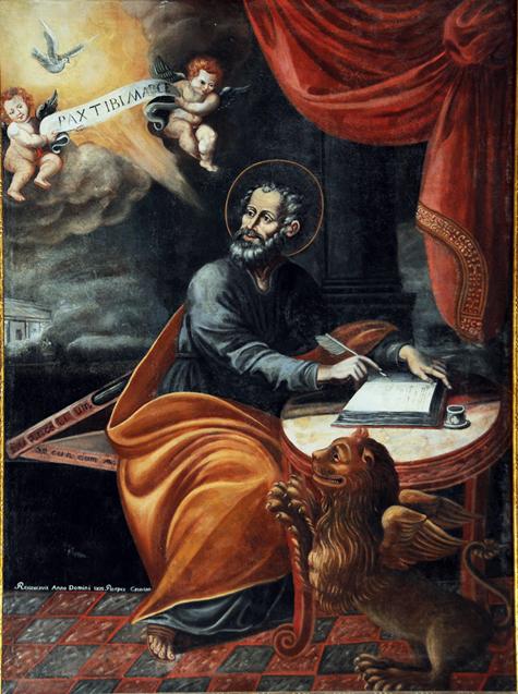 Risultati immagini per san marco evangelista