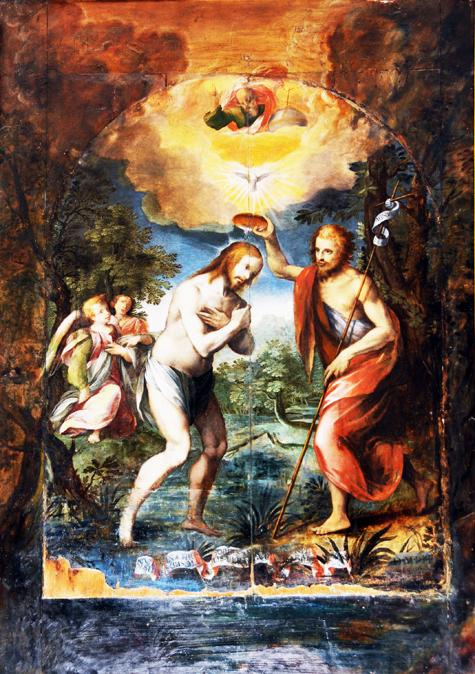 Due Padri Eterni, uno a Massa Lubrense e l'altro a S. Elia a Pianisi, sono ambedue di Girolamo Imparato
