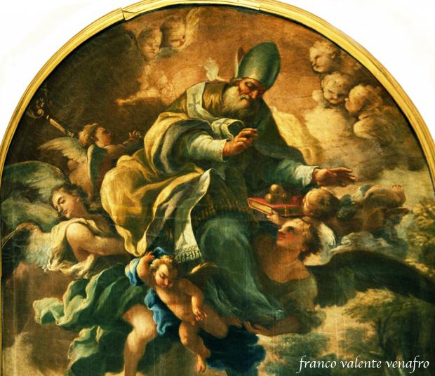 Babbo Natale E San Nicola.Franco Valente Nicolaus Di Mira Il Santo Che Porta I Doni