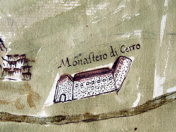 5) Anonimo XVIII Monastero di Cerro